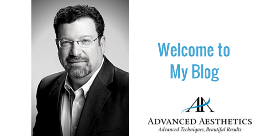 Dr. Kevin Johnson next to the words Welcome to My Blog and his practice logo