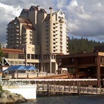 Exterior of Coeur d'Alene Resort